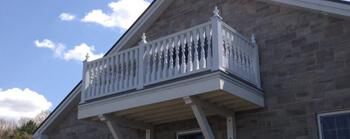 Balcons et escaliers