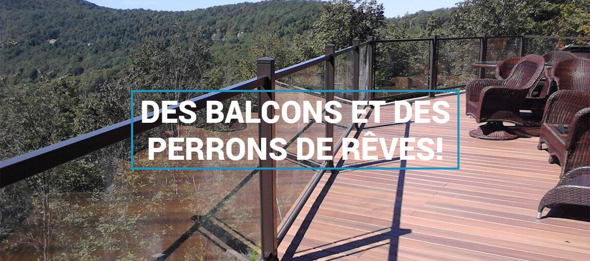 Rampes et Balcons PB - Des balcons et des perrons de rêve!